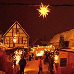 Elbhangfest-Weihnachtsmarkt in Loschwitz