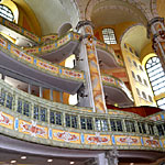 Die Frauenkirche Dresden - Innenaufnahme