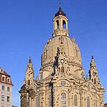 Die Frauenkirche Dresden - Ansicht vom Neumarkt