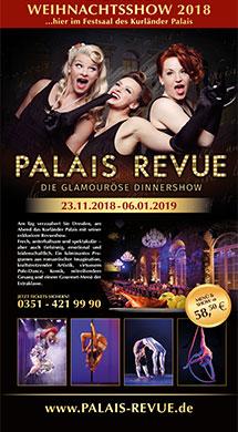 Palais Revue - Die glamouröse Dinnershow