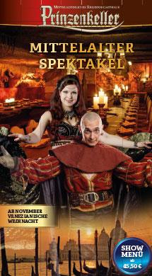 Prinzenkeller - Mittelalter Spektakel - Venezianische Weihnacht