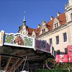 Historischer Weihnachtsmarkt am Dresdner Schloss