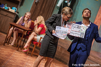 Herr Lehrer, Fräulein Lustig schwänzt! - Boulevardtheater Dresden