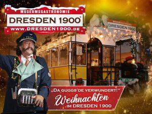 Weihnachtsfeier im DRESDEN 1900